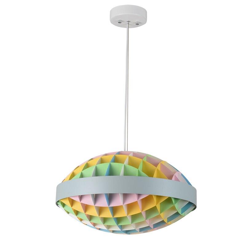 Design italien couleur pendentif lumières lumière led hanglamp loft décor lampes luminaires suspendus lampe salon Restaurant