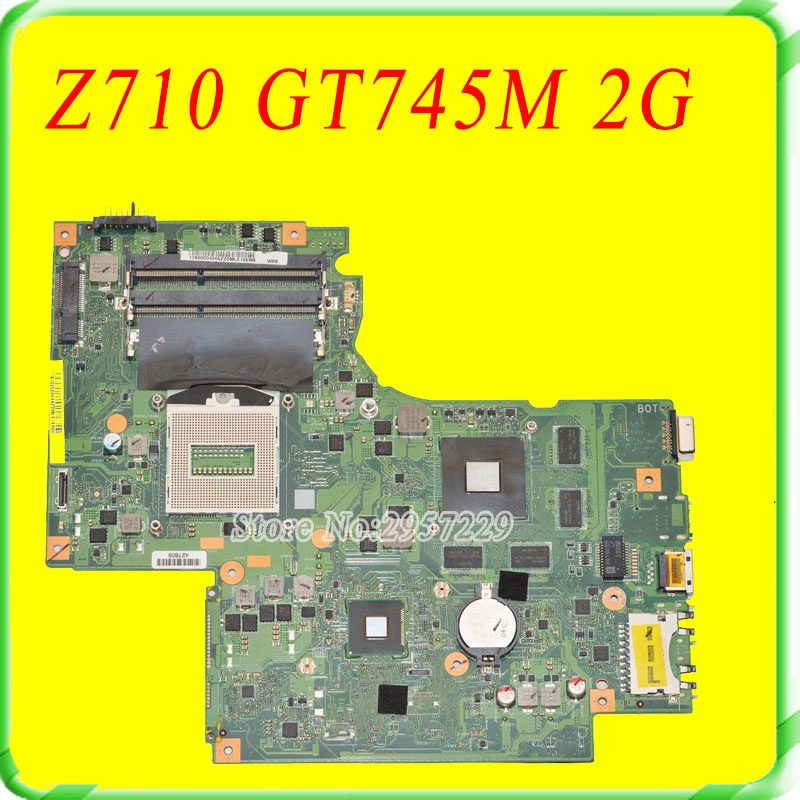 For Lenovo IdeaPad G710 Z710 Motherboard DUMBO2 REV2 1 Mainboard GT745 2G Non intergated 100 Work