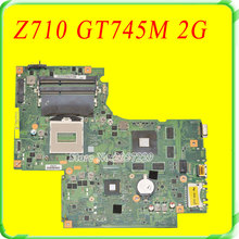For Lenovo IdeaPad G710 Z710 Motherboard DUMBO2 REV2.1 Mainboard GT745 2G Non-intergated 100% Work