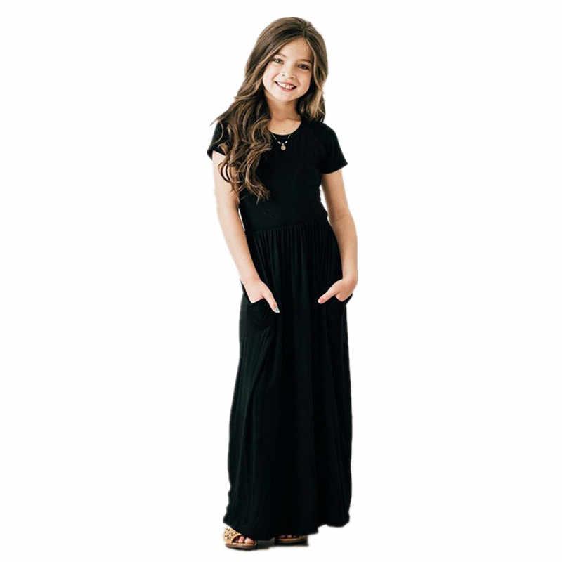 COSPOT/Летнее Длинное Платье для мамы и дочки пляжный сарафан в стиле бохо для девочек и мам женское Праздничное Платье vestidos de festa 2019 40E