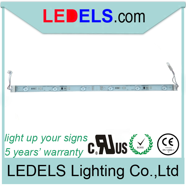 30pcs/lot,sign box lighting UL Listed modules CE ROHS approved,24v 7.2w 720LM backlight waterproof led sign module for light box