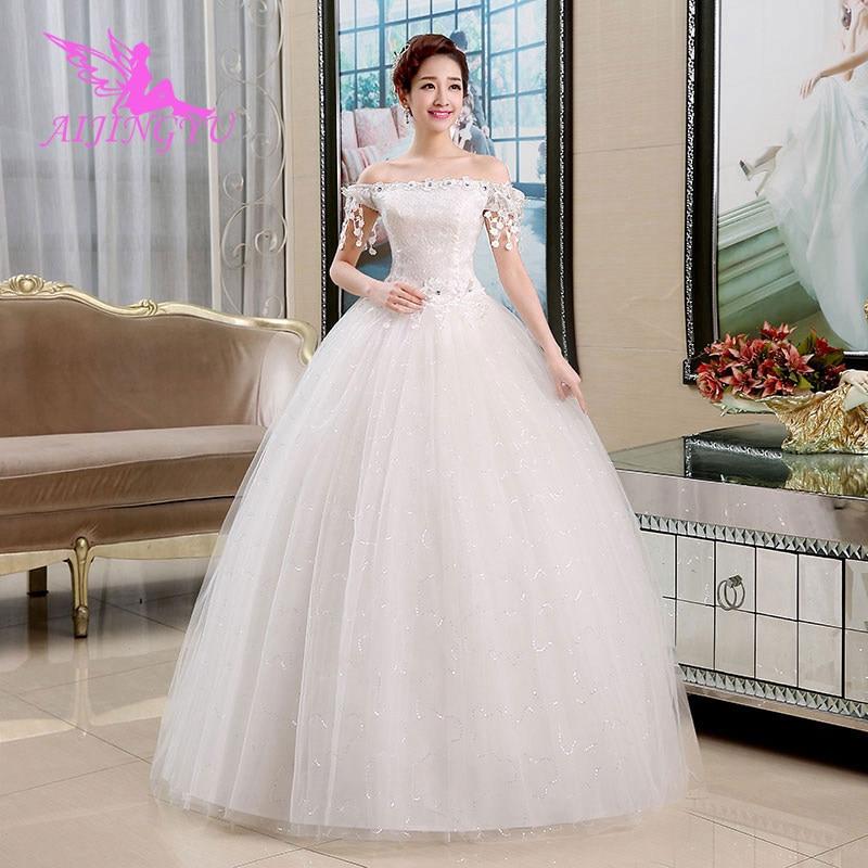AIJINGYU dresses online shop china sweets wedding WU204