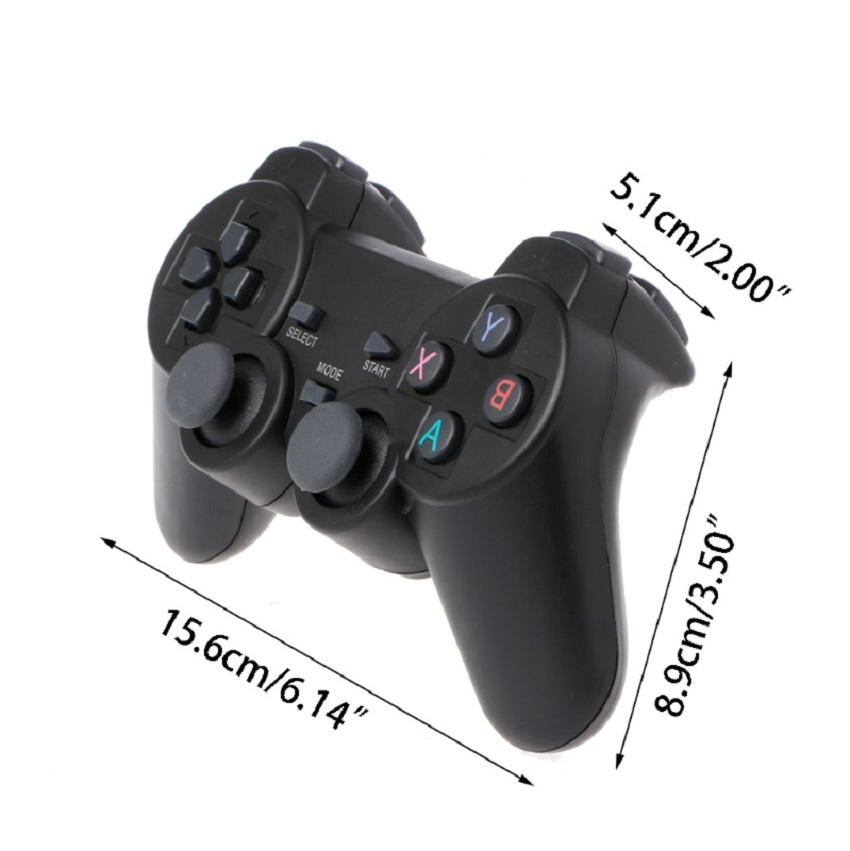 2.4G Wireless Controller Gamepad + Type C OTG Adapter For PS3 Android Phone TV Box