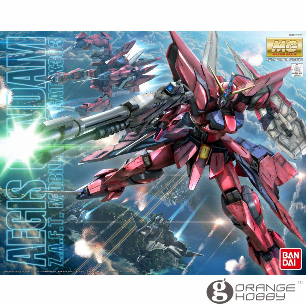 OHS Bandai MG 161 1/100 GAT-X303 Aegis Gundam Mobile Suit Assembly Model Kits ohs bandai mg 177 1 100 gx 9900 gundam x mobile suit assembly model kits