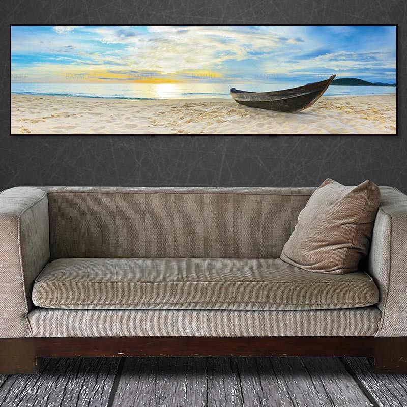 Картина на холсте, Картина на холсте, картина на стену с видом на море, картина с морским пейзажем, печать на холсте и плакатах, картина для домашнего декора
