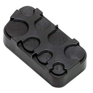 Image 1 - Автомобильный Органайзер в рулонах, пластиковый карман, телескопический чехол для монет, ящик для хранения, контейнер, автомобильный органайзер для монет, аксессуары