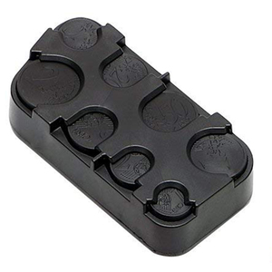 Image 1 - Caixa de plástico para organizar moedas, caixa telescópica de bolso para organizar automóveis, moedas, recipiente, acessório para organizar