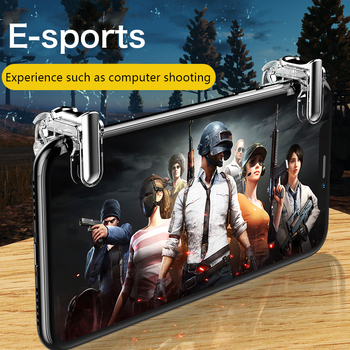 Gamepad For PUBG Mobile Trigger Control Cell Phone Gamepad Controller L1R1 Gaming Shooter for Iphone Android Joystick