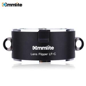Image 2 - Commlite раскладной двойной держатель для объектива инструмент для быстрой смены с ремешком для Canon Nikon Sony E Mount
