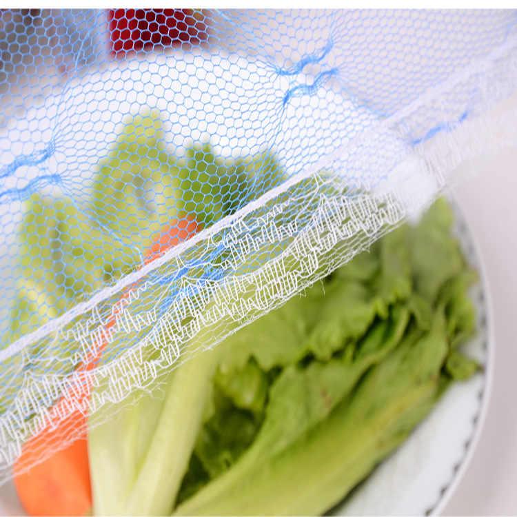 35/40 см газовый зонтик Еда Обложка для пикника Кухня анти мухи комары чистая тент для накрывания пищи еды крышка Таблица колпак из сетки для еды Кухня инструменты