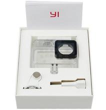 Original Kamera Wasserdicht Fall Yi 2 4K Tauchen Sport Wasserdichte Box für Xiaomi Yi Lite 4K + Action kamera aksesoris Zubehör