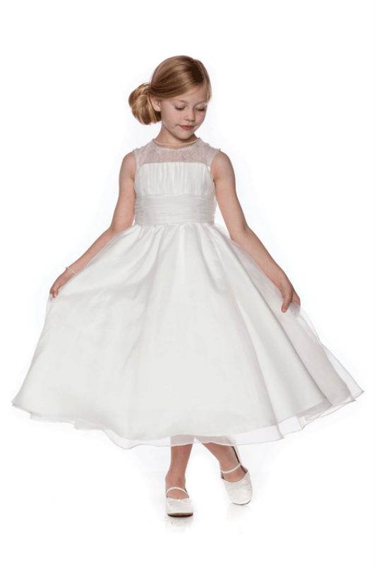Free Shipping Flower Girls Dresses For Wedding Gowns A-line Girl Birthday Party Dress Fashion Mother Daughter Dresses 2-12 Years new white ivory nice spaghetti straps sequined knee length a line flower girl dress beautiful square collar birthday party gowns