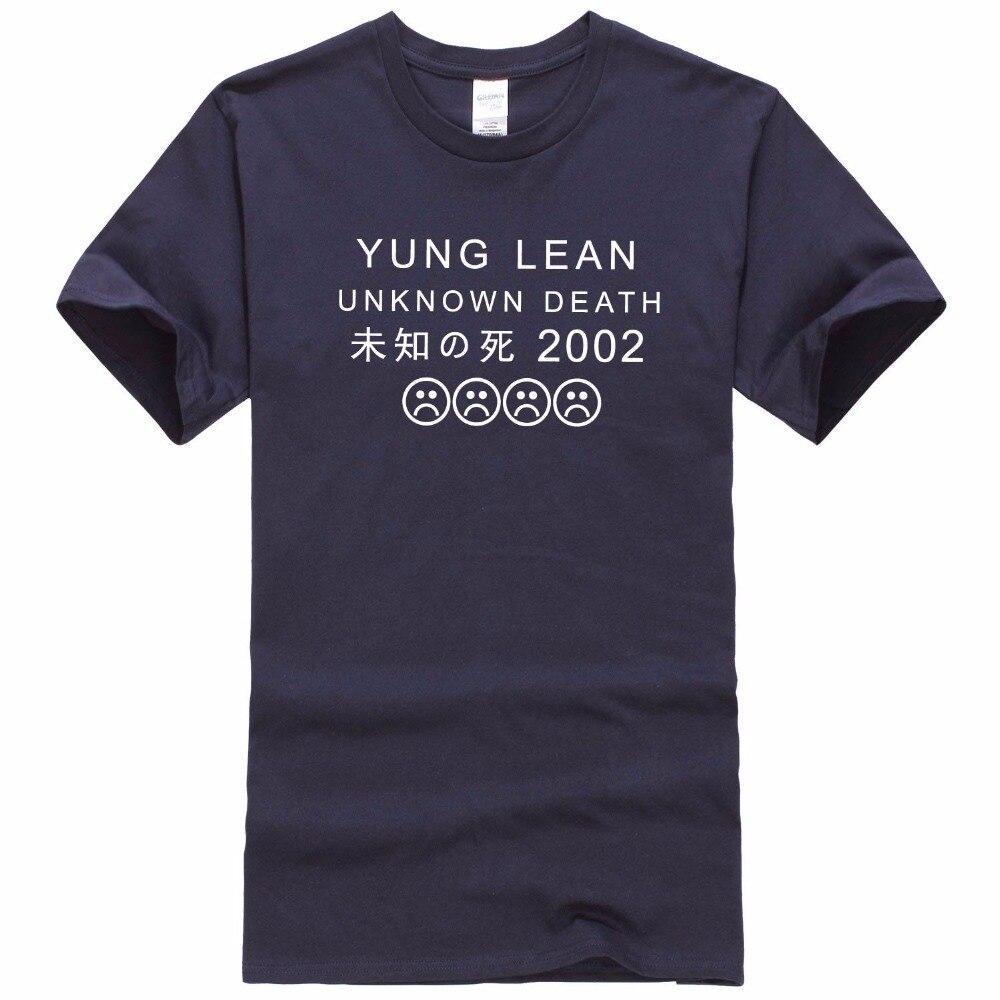Desain t shirt jkt48 - Remeras Hombre Verano 2016 Yung Lean Unknown Death Sad Boys T Shirt Men 100