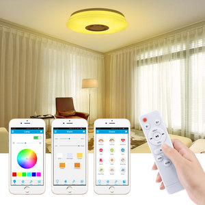 Image 5 - Smart Led Ceiling Light RGB Dimmable 36W 60W APP Control Bluetooth & Music Modern Led Ceiling Lamp Living Room Bedroom 220v