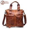 JOYIR 100% Genuine Leather Briefcase Shoulder Tote Messenger Bags Men Business Laptop Handbags Crossbody Bags For Men Male B259
