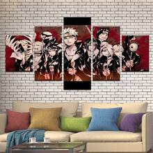 Buy naruto characters poster and get free shipping on aliexpress hao shun da home decor hd prints canvas pictures 5 pieces voltagebd Image collections