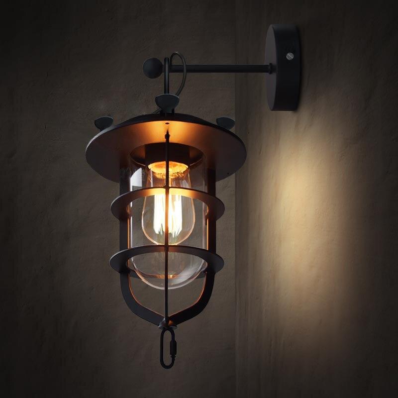 Creative Dock Style պատի լույս Nordic Retro - Ներքին լուսավորություն - Լուսանկար 4