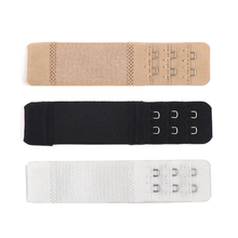 Bra Buckle Back Extension Lengthened 3 Rows 2 Hooks Accessories For Underwear Intimates 3pcs/lot
