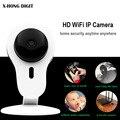 X-HONG IPC 01 Inteligente Mini Câmera IP wifi dois sentidos voz suporte cartão sd onvif night vision motion detect para home security