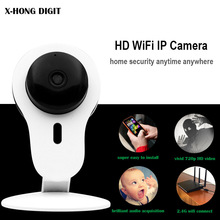 X-HONG IPC 01 Smart Mini IP Camera wifi two way voice night vision support SD card Onvif motion detect for home security