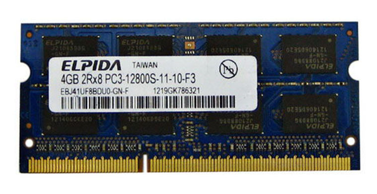 ФОТО Free shipping Brand New Sealed RAM DIMM  4G ELPIDA 2R*8 DDR3 1600MHZ 4G PC3-12800S 4GB notebook memory  ram memory