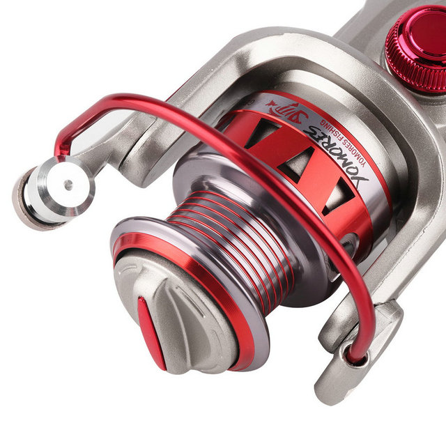 New Arrival 3BB/10BB 7 size Portable Collapsible Metal Folding Arm Fishing Reels free shipping