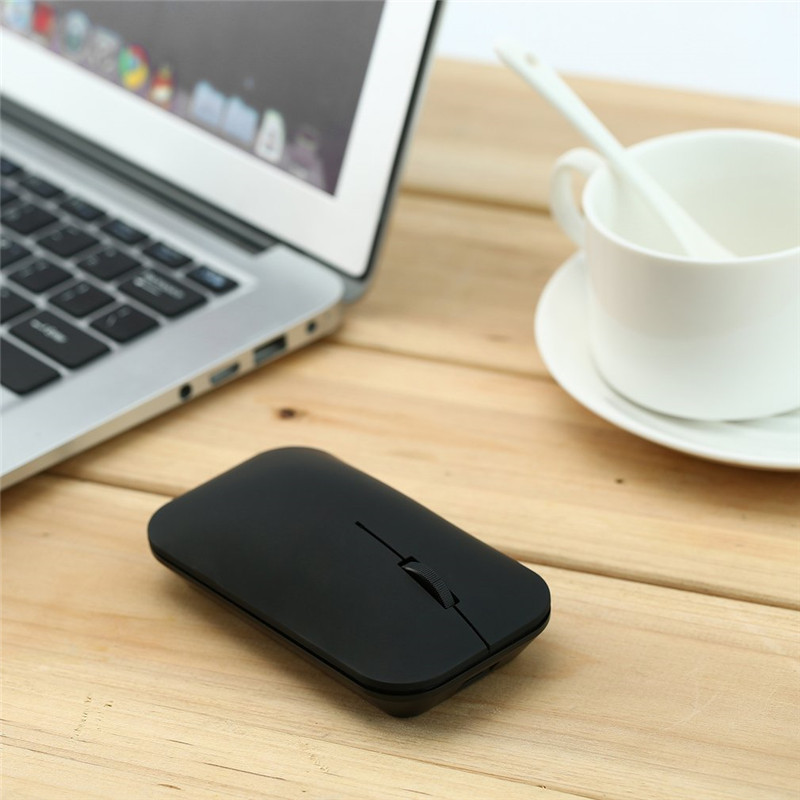 Rechargeable Wireless Mouse Ultra Thin Bluetooth 3.0 Wireless Rechargeable Mouse Slim Mo ...