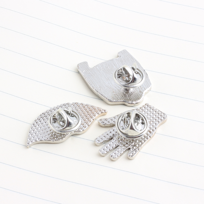 Generous 1pc Sheep Dinosaur Fishbone Metal Badge Brooch Button Pins Denim Jacket Pin Jewelry Decoration Badge For Clothes Lapel Pins Home & Garden