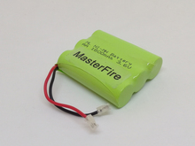 MasterFire New Original Ni-MH AA 3.6V 1800mAh Rechargeable Battery Pack With Plugs For Cordless Phone Batteries