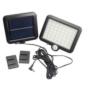 Image 3 - 56 Led Outdoor Solar Wandlamp Pir Motion Sensor Solar Lamp Waterdichte Infrarood Sensor Tuin Licht Voor Parken/Beveiliging straat
