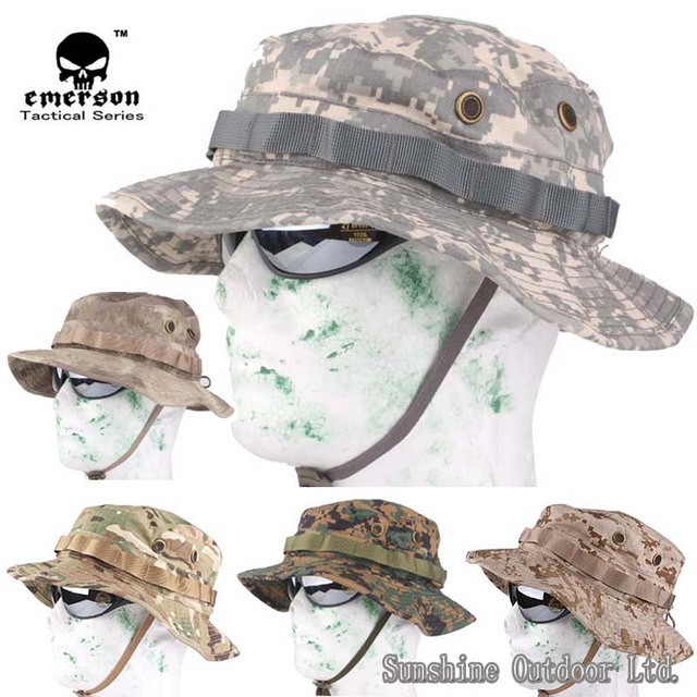 2636cbaf8df EMERSON Special Forces tactical Camouflage Boonie hat Hunting Hat sun hat