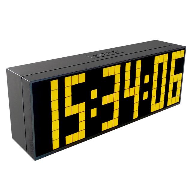 CH KOSDA Digitale Large Big Jumbo LED Wecker Wand Tisch Schreibtisch Schlafzimmer  Uhr Snooze Zeit
