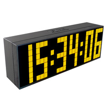KOSDA Mirror LED Alarm Clock Snooze Digital Clock Bedroom Dimmer Wake Up Light With Dual USB Charge Port Time Memory Function