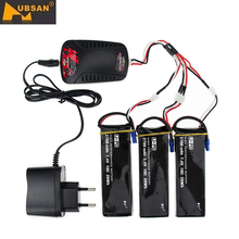Original Hubsan H501C H501S X4 7.4V 2700mAh Lipo 2S Battery 10C 20WH Battery With X8C Charger Set For RC Quadcopter Drone Parts
