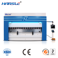 Beautiful appearance and excellent operation Harsle push out new highly accurate CNC hydraulic bending machines press brake