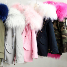 kids Fur Jacket Parka Girls Long Jackets Fur Kids Girls Coat Outerwear Warm Children s Hooded