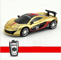 1:43 Scale Mini rc car toys for child children boys gift radio remote control speed racing car toys with led
