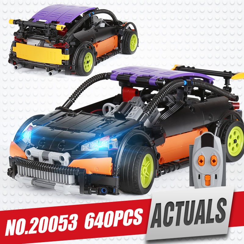 Lepin 20053 Genuine Technic Series The Hatchback Type R Set MOC 6604 Building Blocks Bricks Educational