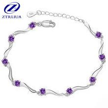 Новая мода 925 стерлингового серебра ювелирные изделия гофрированные