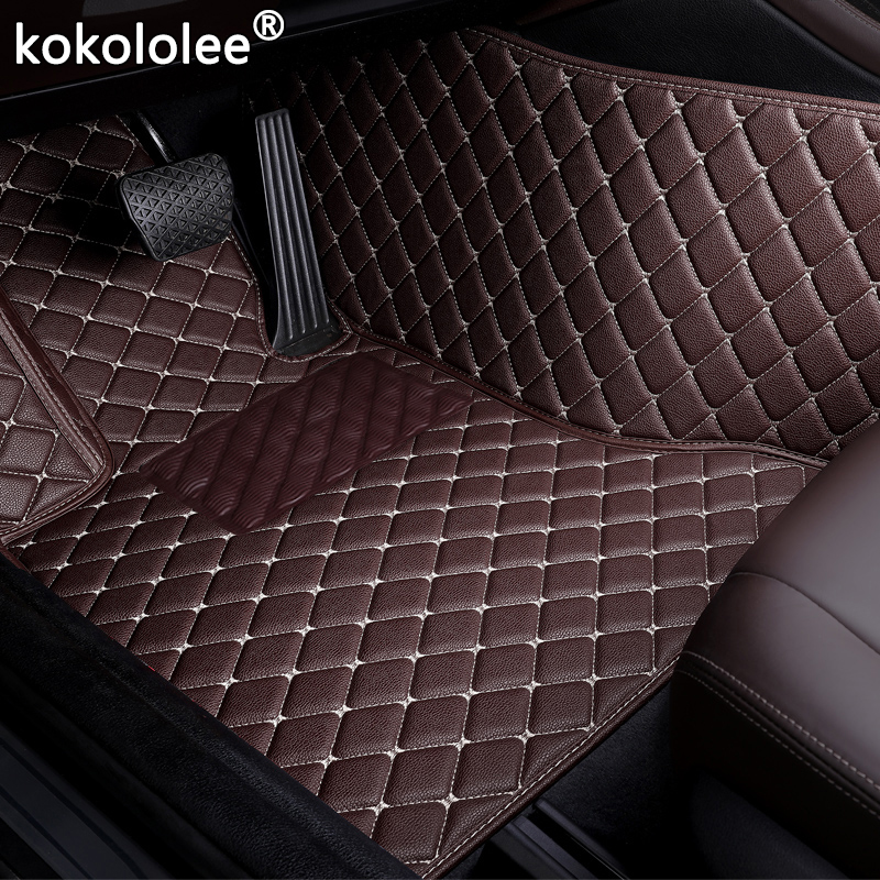 Car Floor Mats For <font><b>Mazda</b></font> <font><b>CX</b></font>-3 <font><b>CX</b></font>-4 cx5 <font><b>CX</b></font>-7 <font><b>CX</b></font>-<font><b>9</b></font> RX-8 Mazda3/5/6/8 March May 323 6 ATENZA accessorie car styling floor mats image