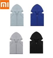 Xiaomi youpin Men thin cotton hood Air conditioner shirt man Comfortable soft Breathable Thin coat