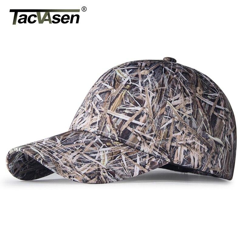 TACVASEN Men's Hunt Sniper Caps Army Camouflage Tactical Cap Summer Baseball Cap Men Tactical Hats Spring Hike Cap TD-DGYG-002