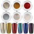 2 Style Shinning Mirror Nail Glitter Powder Nail Art Sequins Decorations Manicure Chrome Pigment Shimmer Nail Art Powder