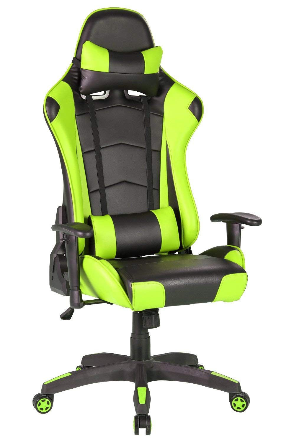 Racing Gaming Chair with High Back Reclining Tilt Luxury Bucket Seat Office Lock