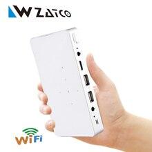 Nueva Q7 Android Wifi Proyector DLP de ALTA DEFINICIÓN Película Home theater Proyectores LED hdmi proyector LCD Proyector 1080 P de Vídeo Portátil proyectores