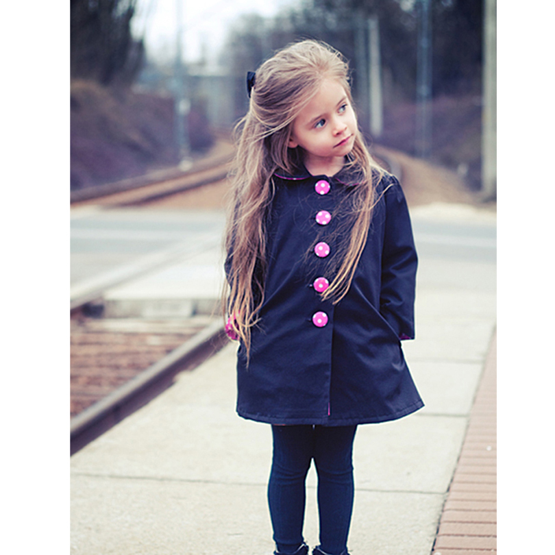 European Autumn Kids Jackets Girls Fashion Manteau Enfant Fille ...