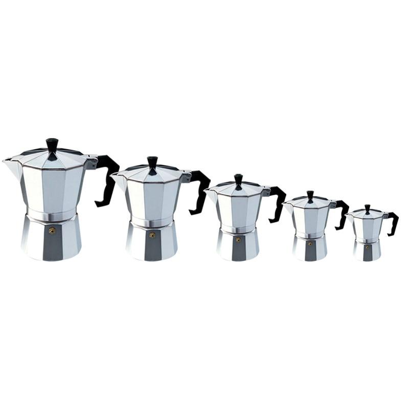 Eworld Moka Espresso Coffee Maker Machine /glantop Aluminum 1cup/3cup/6cup/9cup/12cup Italian Stove Top//percolator Pot Tool