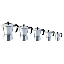 Eworld Moka Espresso Coffee Maker Machine /glantop Aluminum 1cup/3cup/6cup/9cup/12cup Italian Stove Top//percolator Pot Tool