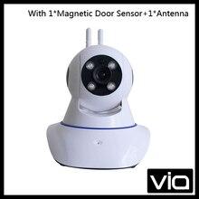 W11 Free Shipping IP Camera 720P Wifi Wireless Mini CCTV Camera Home Security Monitoring Burglar Alarm System