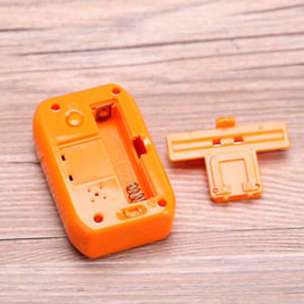 Mini Kỹ Thuật Số Đèn Nền LED Hiển Thị Bảng Đồng Hồ Báo Thức Snooze Lịch LED Thay Đổi Kỹ Thuật Số Đồng Hồ Báo Thức Bàn # K15